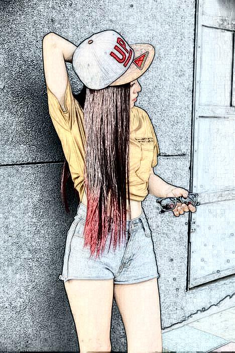 女生唯美皮肤图片 忆往事 萌女小清新 高清图片