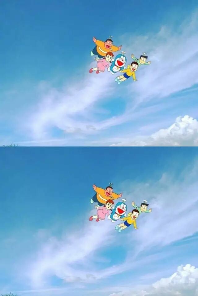 透明可爱哆啦a梦皮肤图片_孤独症患者_卖兰州的小仙女